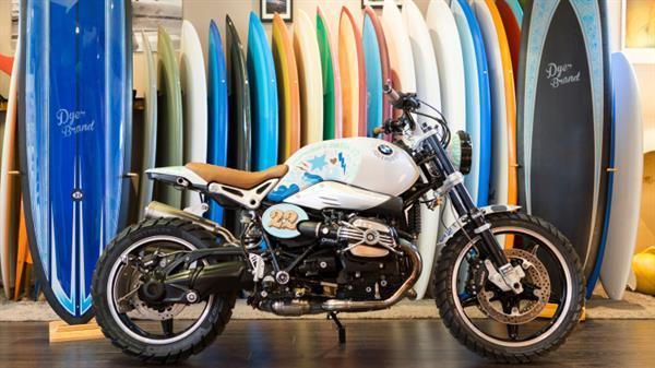 BMW'dan sörf tahtası taşıyan konsept motosiklet