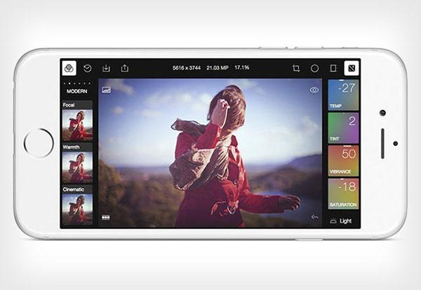iOS uyumlu yeni fotoğraf uygulaması: Polarr Photo Editor