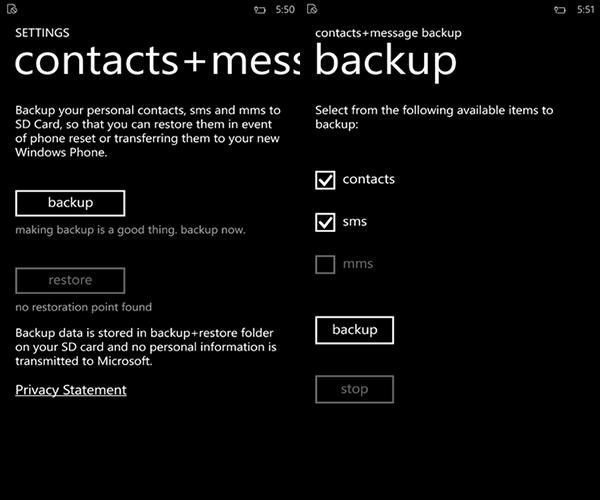 Windows Phone için hazırlanan