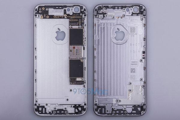Apple iPhone 6s'in metal kasası ortaya çıktı!