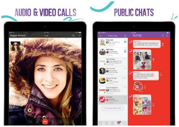 iPad için Viber indirmeye sunuldu