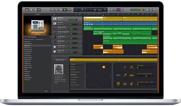 Apple GarageBand, ForceTouch desteğine kavuştu