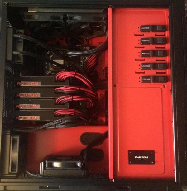 AMD Radeon R9 Fury X, 4 yollu CrossFire yapısı teste tabi tutuldu
