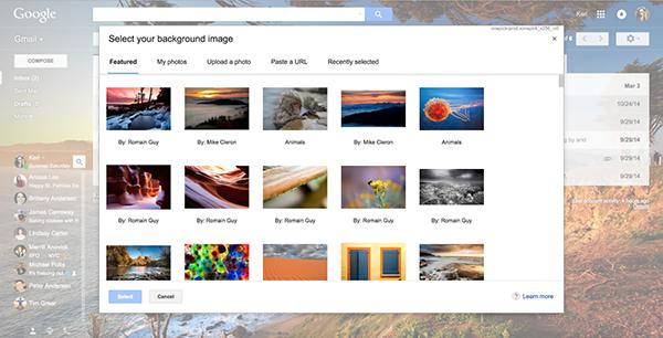 Google, Gmail'e görsel yenilikler getirdi