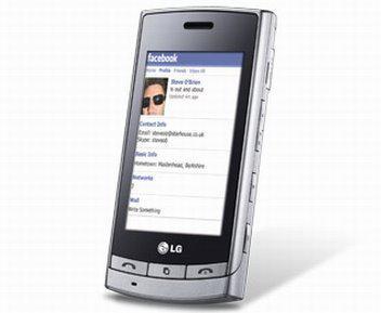 Dokunmatik ekranlı LG Viewty GT'nin İngiltere'de satışına başlandı