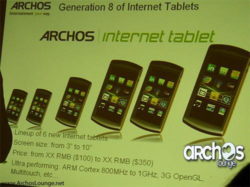 Archos, iPod boyutunda tablet bilgisayar sunmaya hazırlanıyor