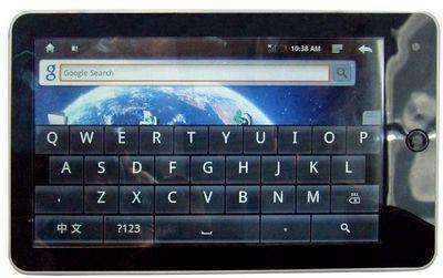 Moonse'dan Android işletim sistemli tablet: E-7001