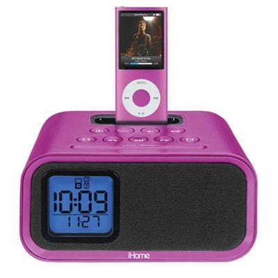 iPod destekli çalar saat: iHome iH22PV