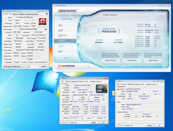 Asus Radeon HD 5870 Matrix'in GPU hızı 1525MHz'e çıkartıldı