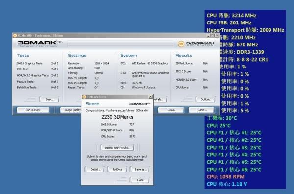 AMD'nin 6 çekirdekli yeni amiral gemisi Phenom II X6 1090T BE test edildi