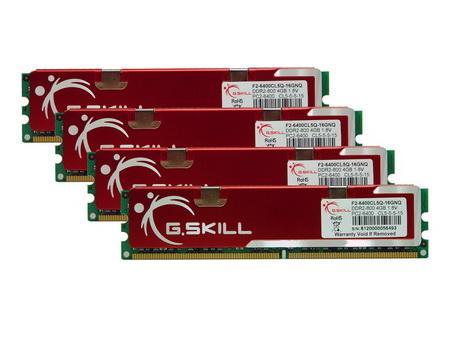 G.Skill'den 16GB'lık DDR2 800MHz bellek kiti