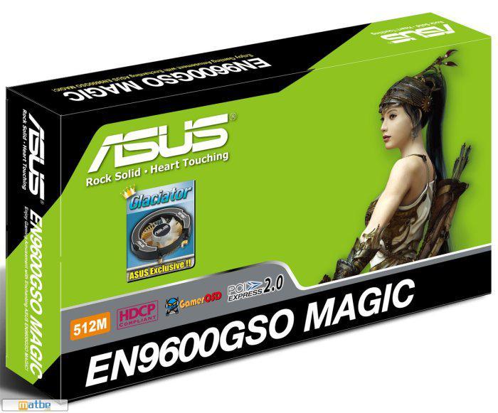 Asus'un sihiri; GeForce 9600GSO Magic