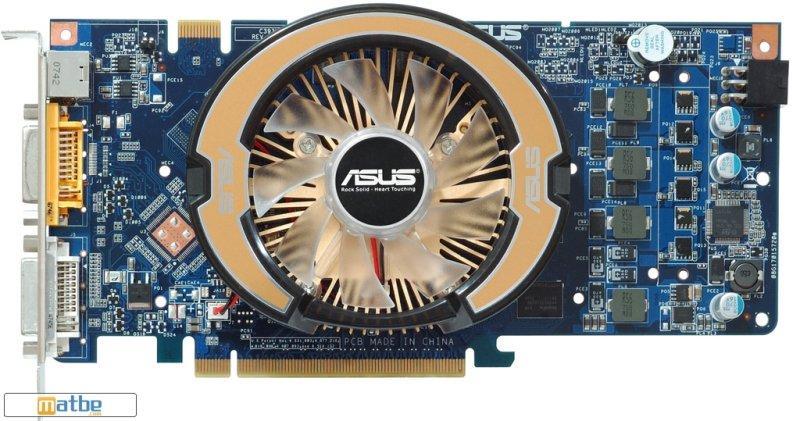 Asus GeForce 9600GSO Ultimate modelini hazırladı