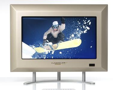 LG ve Philips' ten ince kasaya sahip CRT ekranlar