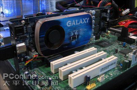 Galaxy'den GeForce 9600GT Blade ve HTPC'de SLI