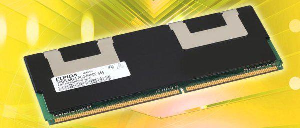 Elpida dünyanın en yüksek kapasiteli DDR2 FB-DIMM modüllerini duyurdu