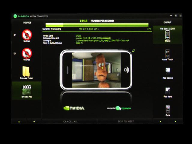 Nvidia'nın CUDA teknolojisi ile videolar artık daha hızlı işlenebilecek