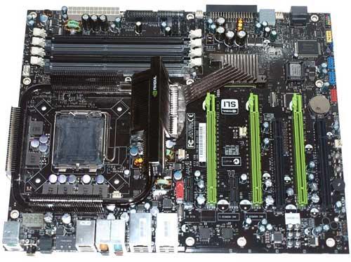 EVGA'nın nForce 790i Ultra SLI yonga setli yeni anakartı kullanıma sunuldu