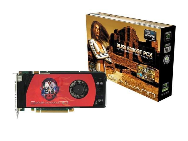Gainward'dan arttırılmış saat hızlarına sahip GeForce 9600GT BLISS