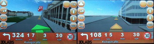 3DLabs'den gerçek 3 boyutlu GPS yönlendirme teknolojisi