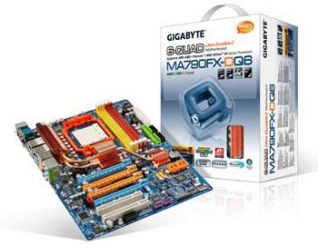 Gigabyte'dan AMD'nin Phenom 9950 işlemcisine destek