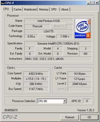 Intel ve sonunda 64 Bit  -  Pentium4 6xx ve Extreme Edition serisi