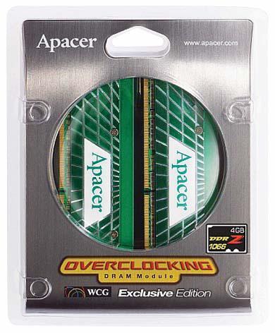 Apacer'den 1066MHz'de çalışan 4GB'lık yeni DDR2 bellek kiti