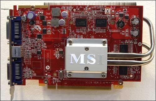 MSI'dan pasif soğutmalı ve 512MB GDDR3 bellekli HD 3650 geliyor