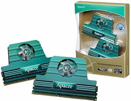 Apacer'den aktif soğutmalı yeni DDR3 bellek kitleri
