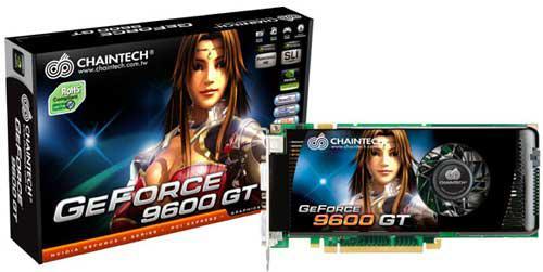 Chaintech'den hız aşırtmalı yeni GeForce 9600GT