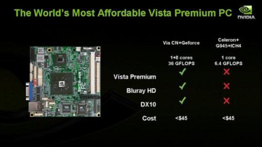 Nvidia'dan Intel'e sert yanıt; VIA ile hazırlanacak platform açıklandı