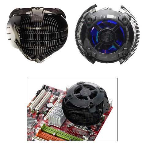 Cooler Master'dan yeni işlemci soğutucusu; CM Sphere Black Edition