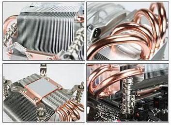 Asus'dan yeni işlemci soğutucusu; V72