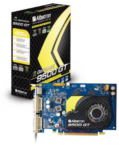 Albatron GeForce 9500GT modelini duyurdu