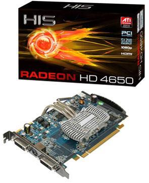HIS pasif soğutmalı Radeon HD 4650 iSilence 4 modelini duyurdu