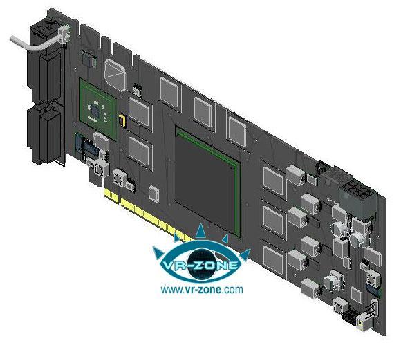 GeForce 9900GTX için yeni tasarım detayları