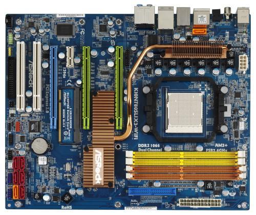 Asrock'ın nForce 780a SLI yonga setli yeni anakartı kullanıma sunuldu
