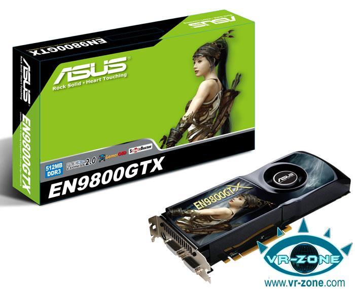 Asus GeForce 9800GTX modelini lanse etti