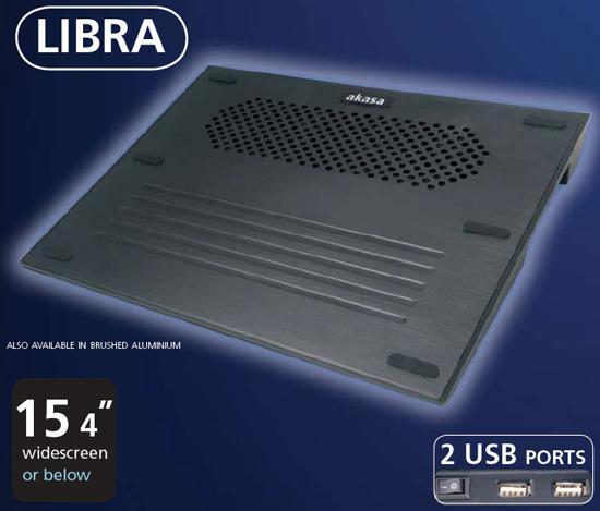 Akasa'dan yeni dizüstü bilgisayar soğutucusu. Libra