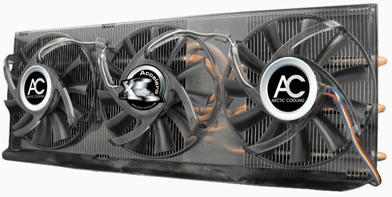 Arctic  Cooling'den GeForce 9800GTX için yeni ekran kartı soğutucusu