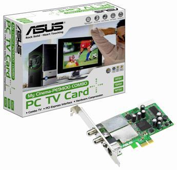 Asus'dan PCIe X1 destekli yeni tv kartı