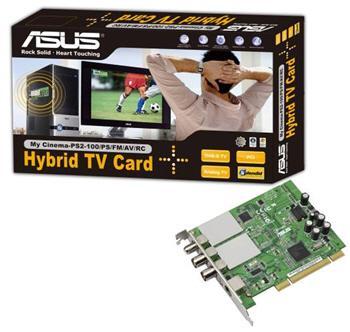 Asus PCI tabanlı yeni Hybrid tv kartını duyurdu