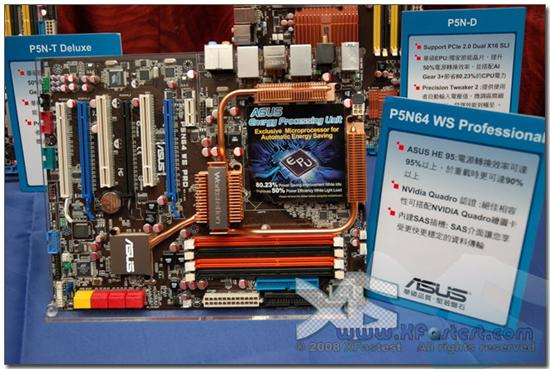 Asus P5N64 WS Pro; nForce 790i profesyonel ellerde