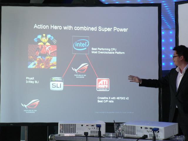 Asus'un R.O.G serisi X58 yonga setli anakartı SLI desteğiyle gelecek