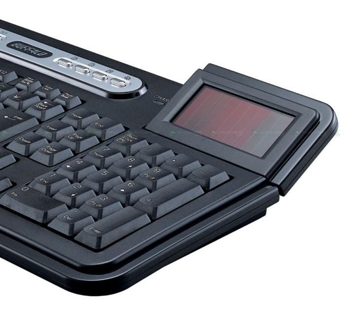 Buffalo'dan güneş enerjisiyle çalışan kablosuz klavye