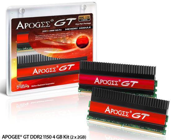 Chaintech'den 1150MHz ve 1200MHz'de çalışan 4GB'lık iki yeni bellek kiti