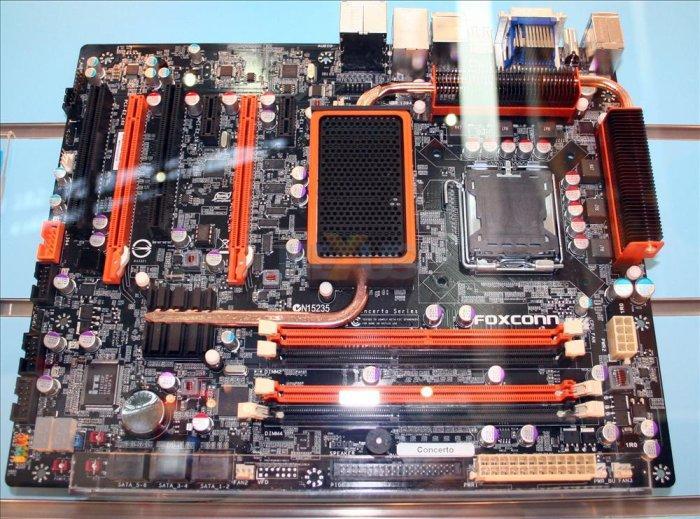 Computex 2008: Foxconn G45 Concerto tasarımıyla dikkat çekiyor