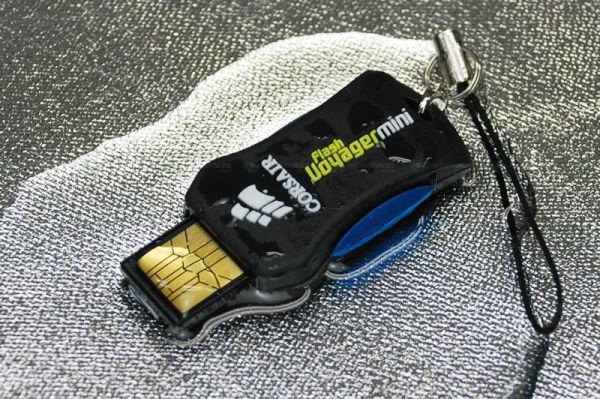 Corsair'den 4GB kapasiteli kompakt usb bellek; Flash Voyager Mini