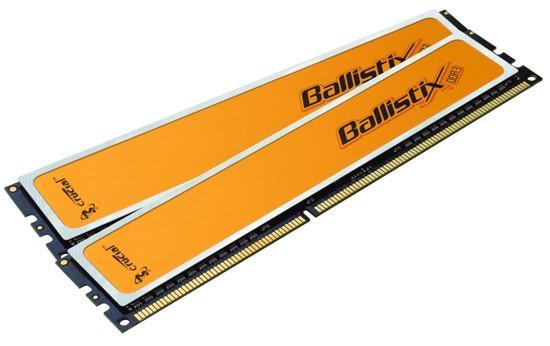 Crucial Ballistix serisi DDR3 bellek ailesini genişletiyor