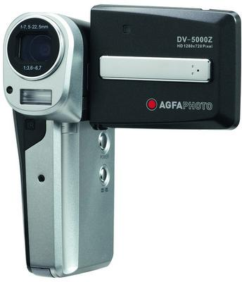 AgfaPhoto'dan yeni bir HD video kamera: DV-5000Z